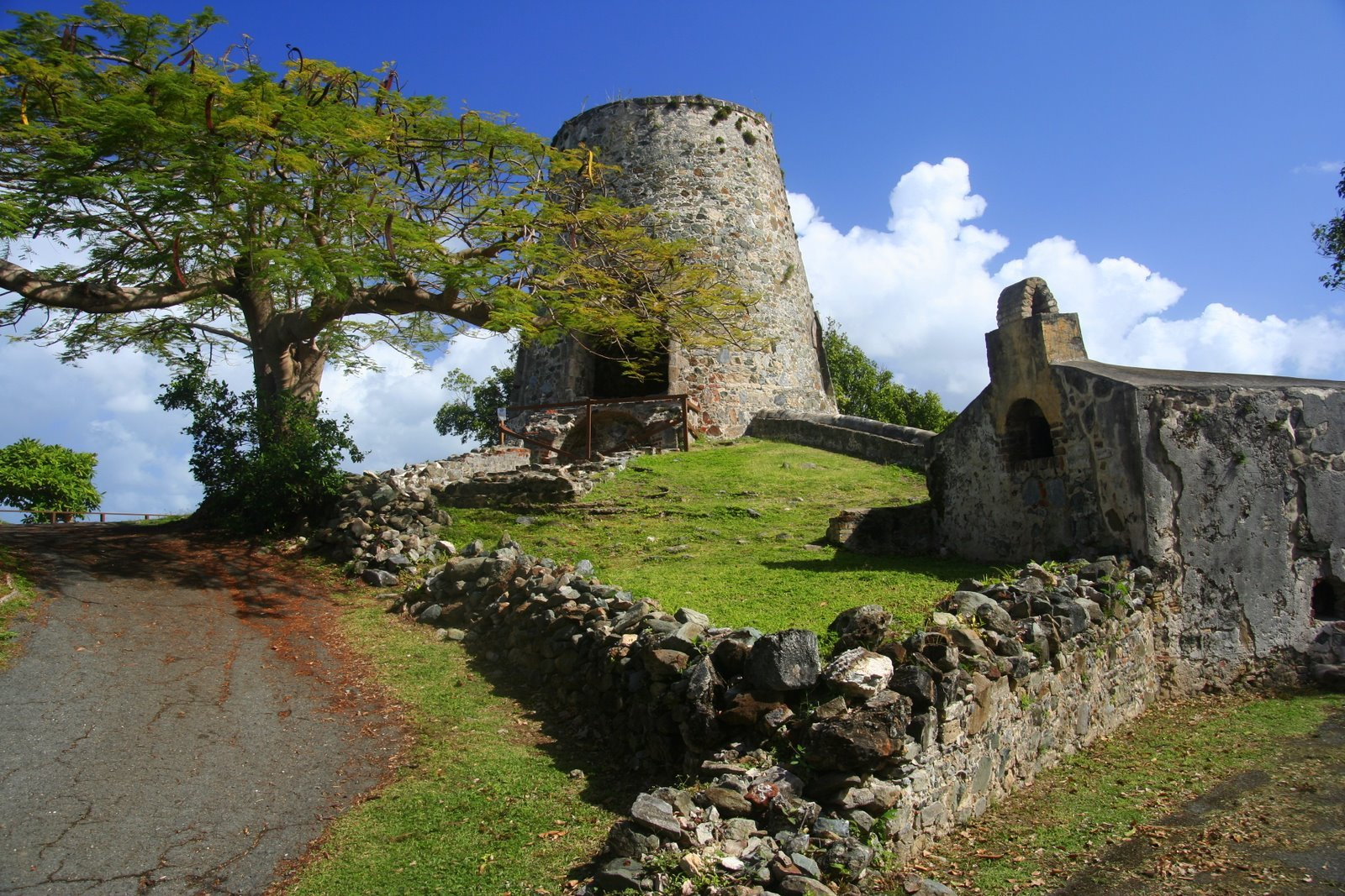 Annaberg Sugar Mill Ruins Virgin Islands